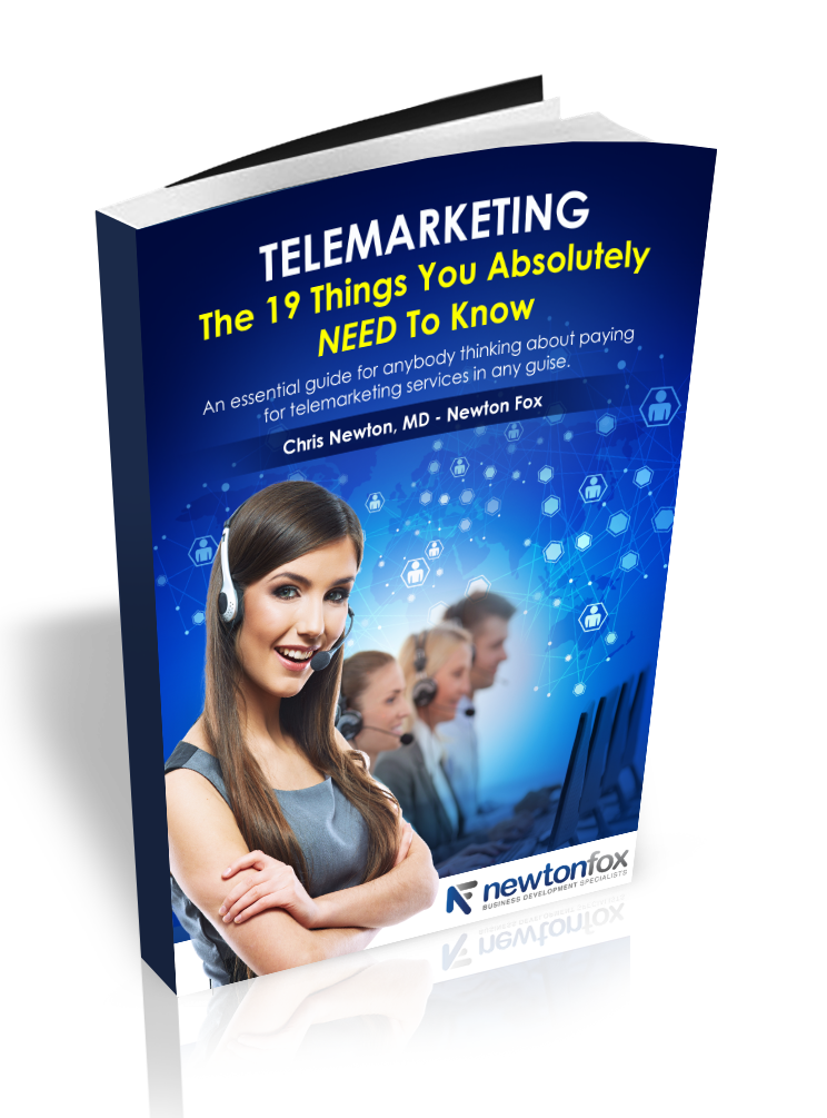 Telemarketing-The 19 Things You Need To Know - Newton Fox